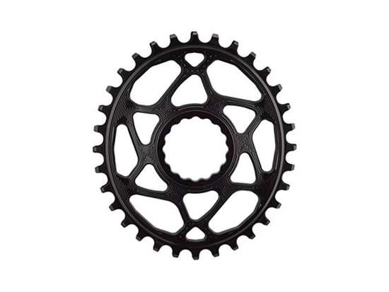 Absolute Black Kedjedrev Direct Mount Oval 1x10/11/12 XTR Svart 34T