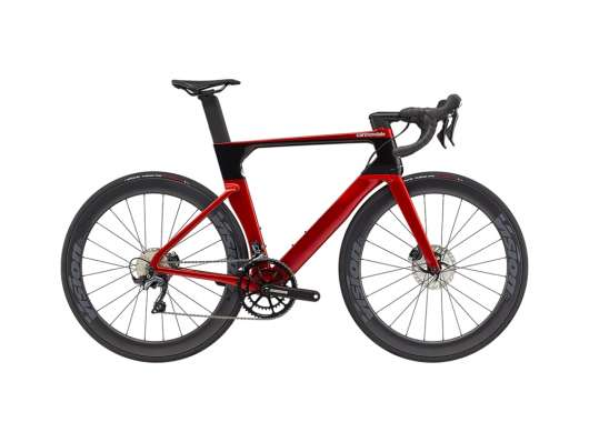 Cannondale SystemSix Carbon Ultegra 58 cm. Candy Red/Black