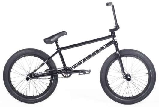 "Cult Devotion 2020 Freestyle BMX Cykel 20"" 21"" Svart"