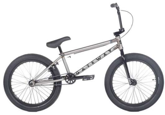 "Cult Gateway 20"" 2020 Freestyle BMX Cykel 20.5"" Raw"