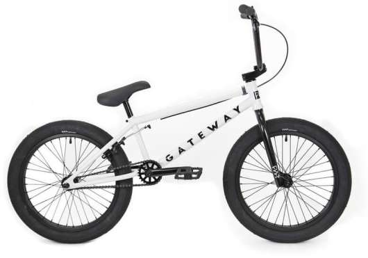 "Cult Gateway 20"" 2020 Freestyle BMX Cykel 20.5"" Vit"