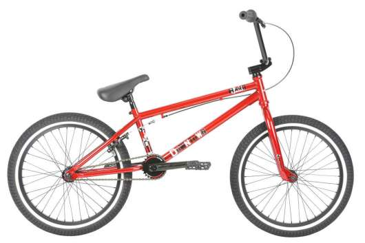 "Haro Downtown 24"" 2019 Freestyle BMX Cykel 20.5"" Mirra Red"