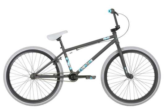 "Haro Downtown 24"" 2019 Freestyle BMX Cykel 21.7"" Matte Black"