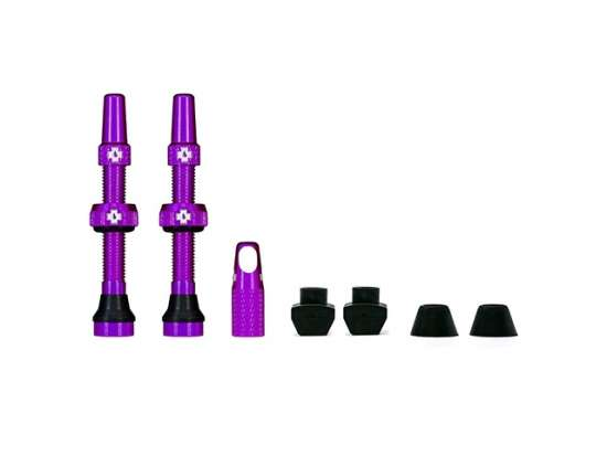 Muc-Off Tubeless Valve 44mm Lila