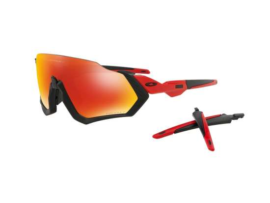 Oakley Flight Jacket Prizm Ruby Redline